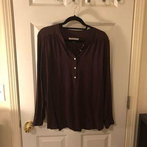 Loft blouse size large